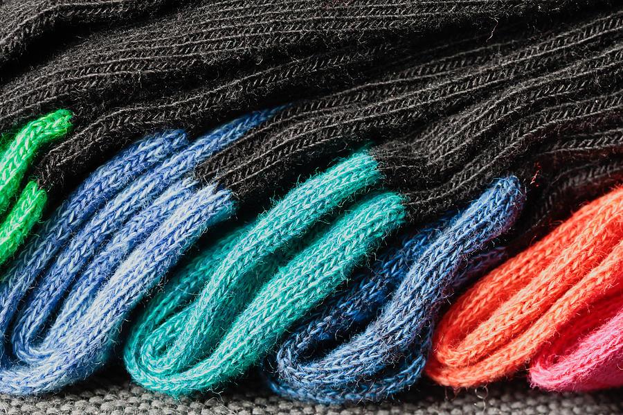 Colorful Socks Photograph