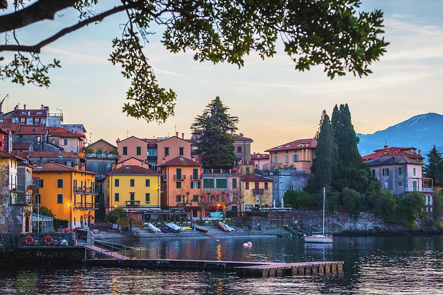Como District Lake, Varenna Photograph by Deimagine
