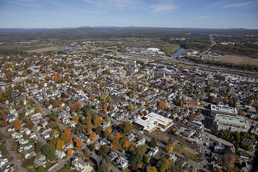 America Photograph - Concord, New Hampshire Nh by Dave Cleaveland