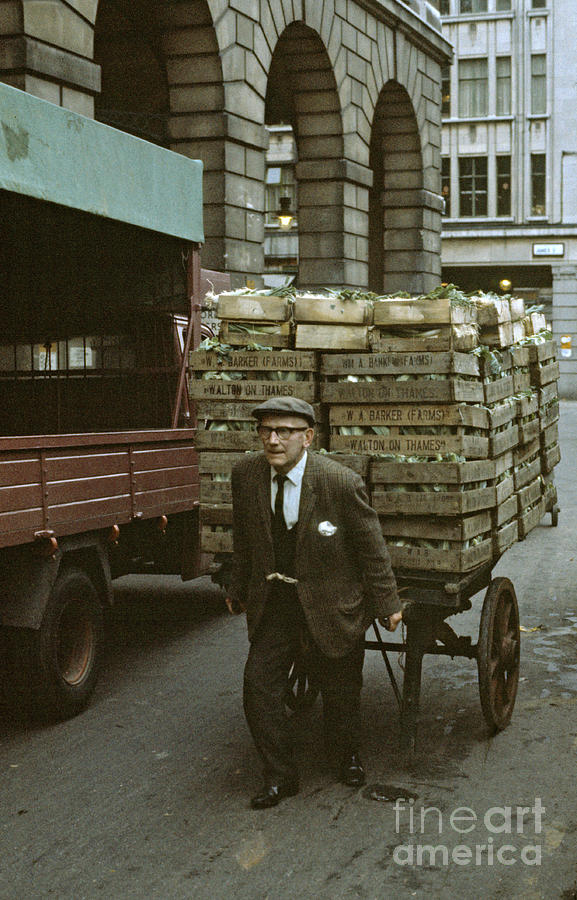 Covent Garden Photograph - Covent Garden Market 1973 by David Davies