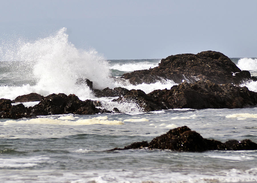 Wavw Photograph - Crashing Wave by Scott Gould