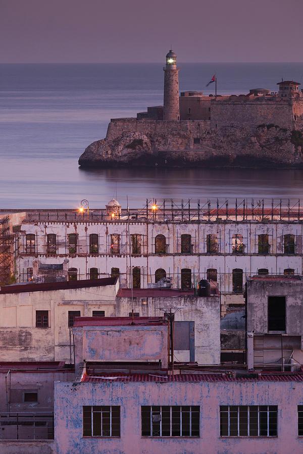 Build Photograph - Cuba, Havana, Elevated City View by Walter Bibikow