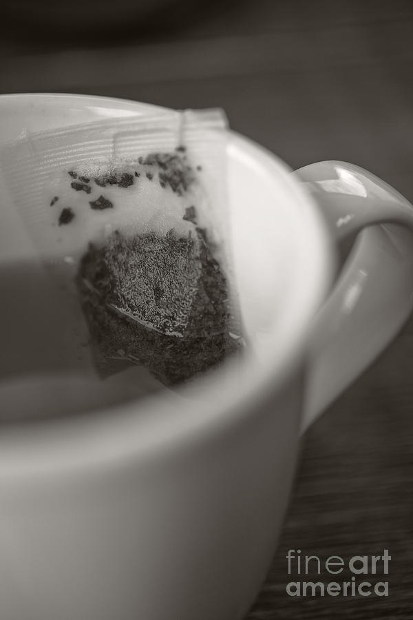 Cafe Photograph - Cup Of Tea by Edward Fielding
