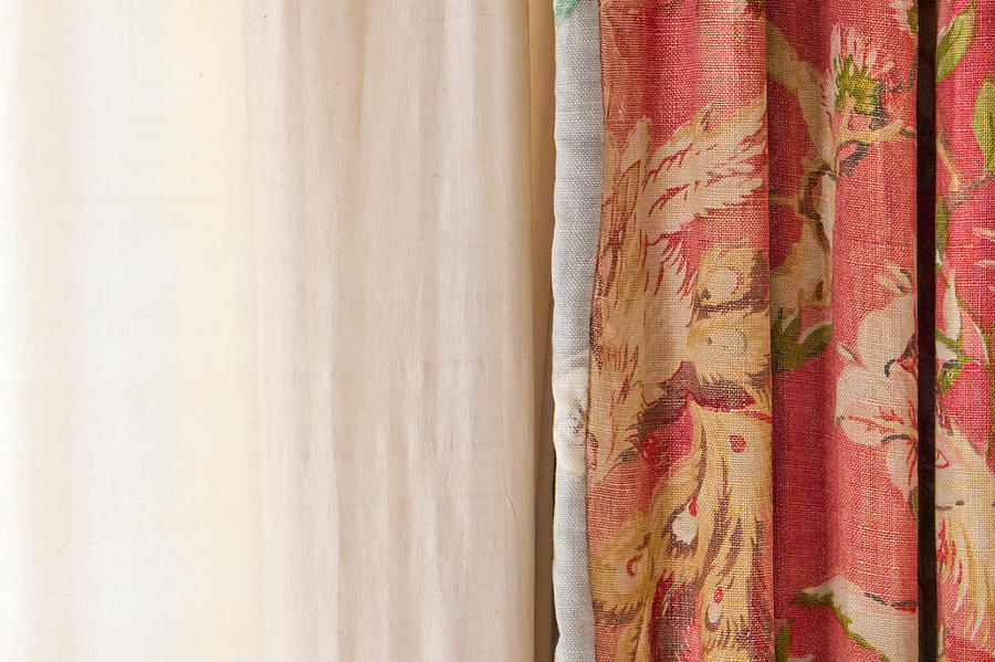 Blond Photograph - Curtains by Tom Gowanlock