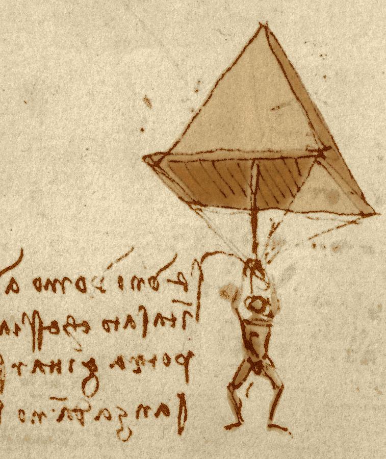 Fallschirm Leonardo Da Vinci