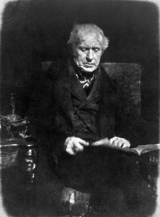 19th Century Photograph - David Brewster (1781-1868) by Granger