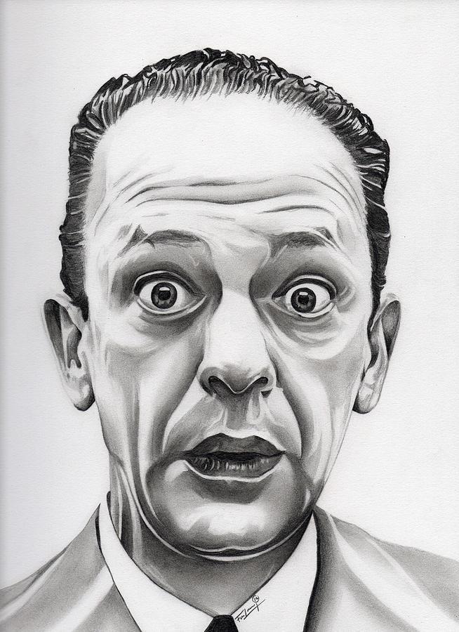 Barney Fife Drawing - Deputy Barney Fife by Fred Larucci