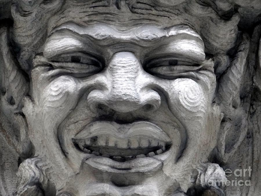 Ansonia Photograph - Devilish Smile by Ed Weidman