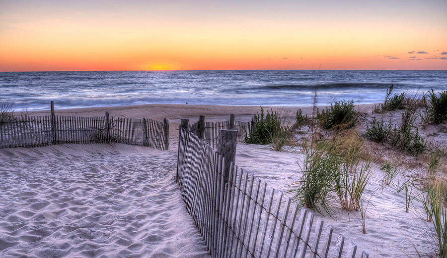 Dewey Beach Sunrise by David Dufresne