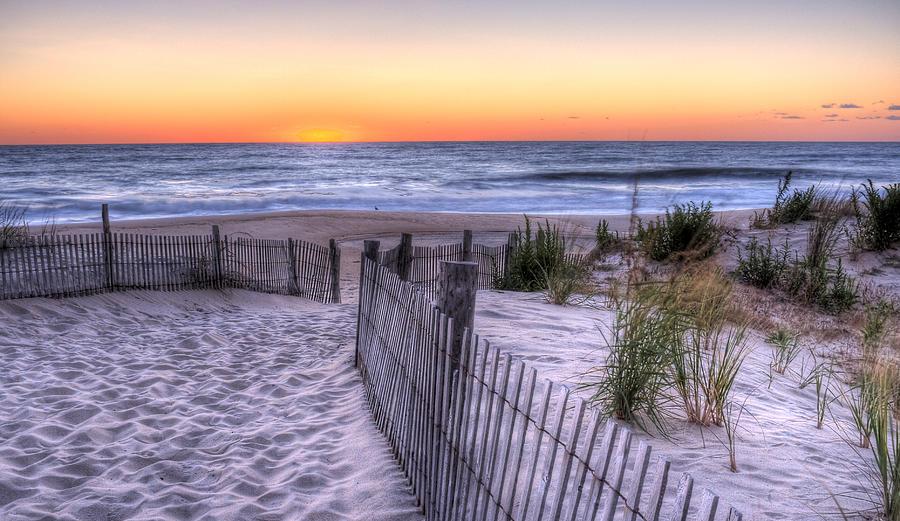 Dewey Beach Photograph - Dewey Beach Sunrise by David Dufresne