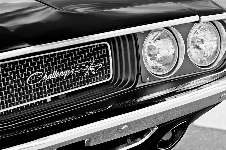 Dodge challenger rt grille emblem photograph by jill reger dodge photograph dodge challenger rt grille emblem by jill reger publicscrutiny Choice Image