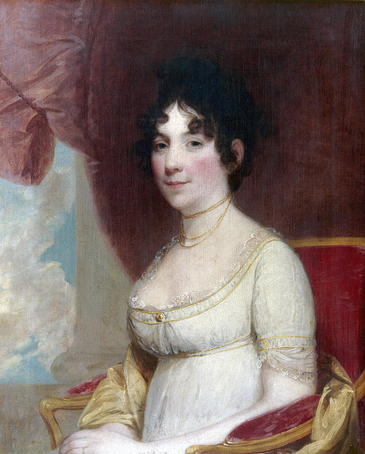 1804 Painting - Dolley Payne Todd Madison (1768-1849) by Granger