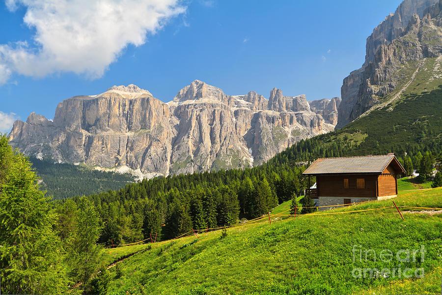 Dolomiti - High Fassa Valley Photograph