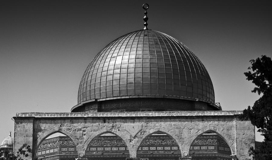 Dome Of The Rock Photograph - Dome Of The Rock by Amr Miqdadi
