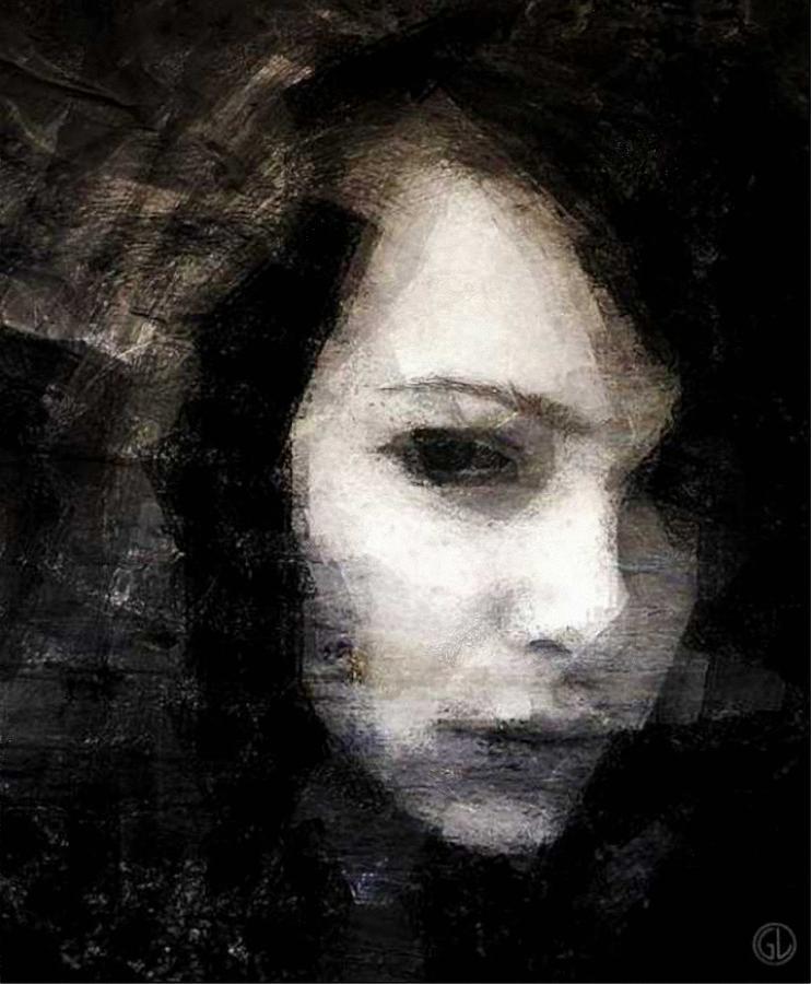 Woman Digital Art - Dont Trust You by Gun Legler