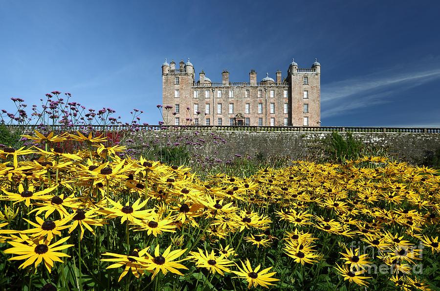 Drumlanrig Castle Photograph - Drumlanrig Castle by Maria Gaellman