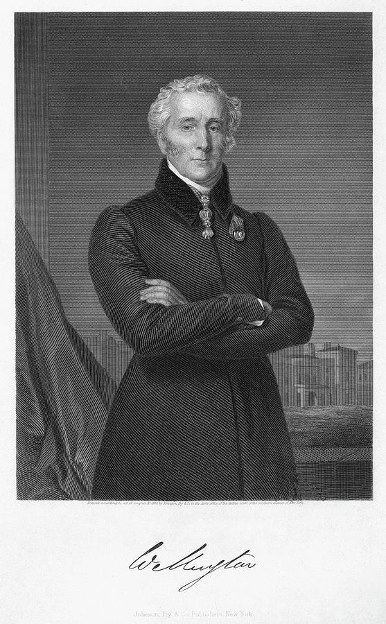 19th Century Painting - Duke Of Wellington (1769-1852) by Granger