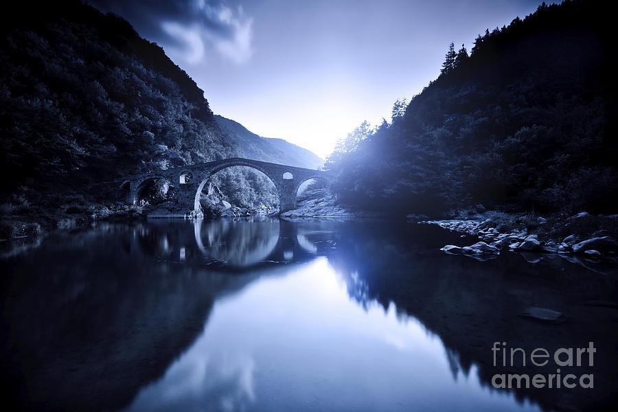 Bulgaria Photograph - Dyavolski Most Arch Bridge by Evgeny Kuklev