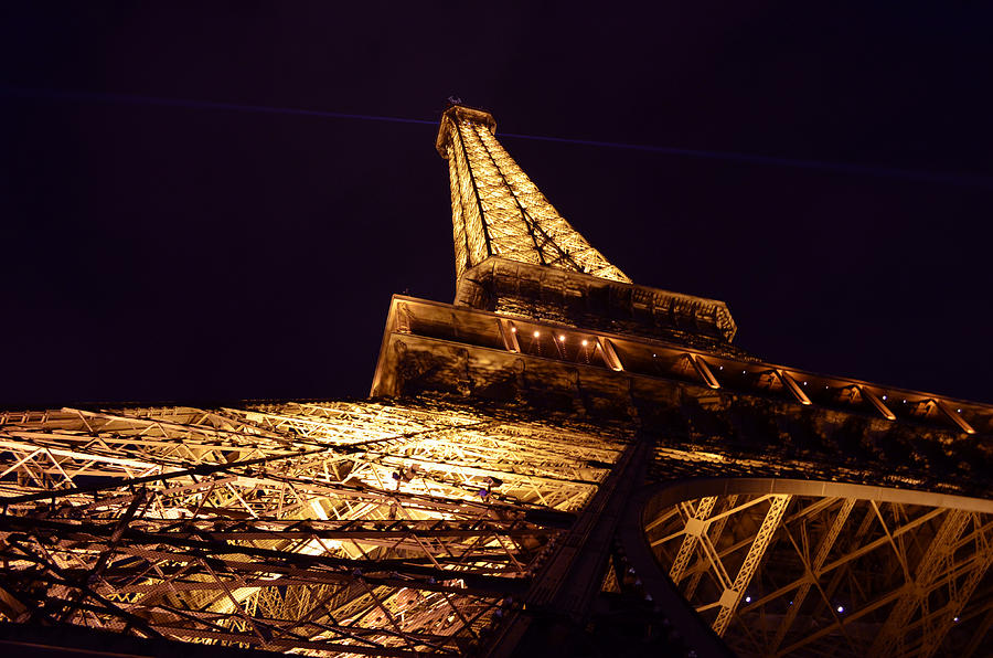 Digital Image Photograph - Eiffel Tower Paris France by Patricia Awapara