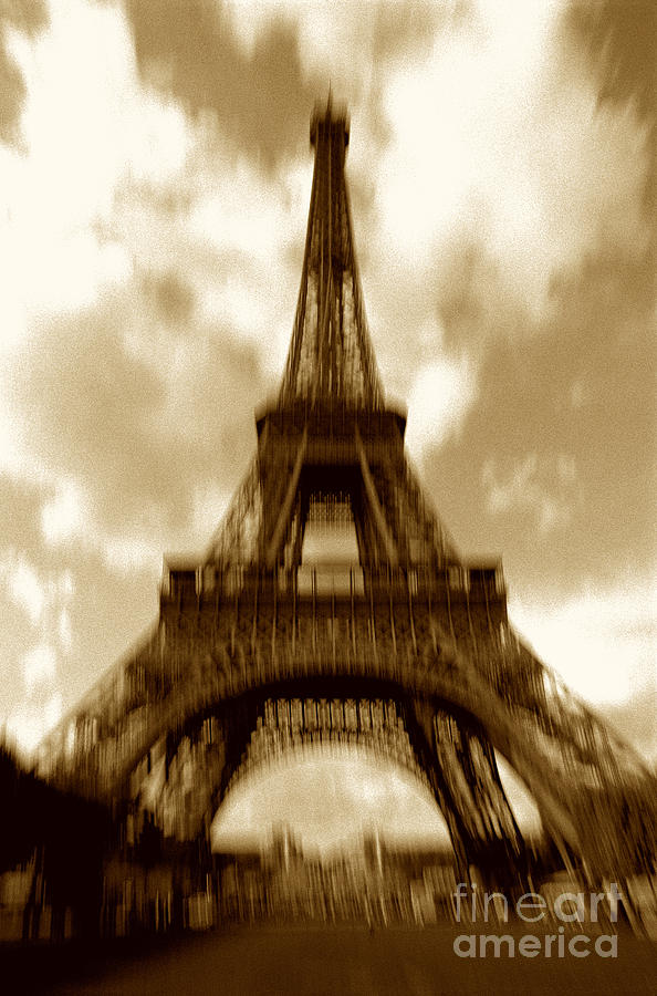Eiffel Photograph - Eiffel Tower  by Tony Cordoza