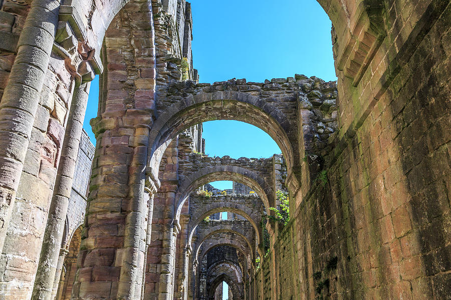 Abbey Photograph - England, North Yorkshire, Ripon 2 by Emily Wilson