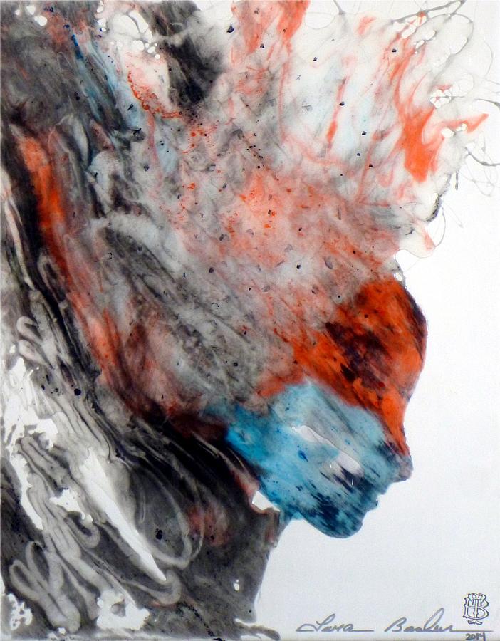 Epoxy Painting Art : Epoxy resin art painting by tara baden