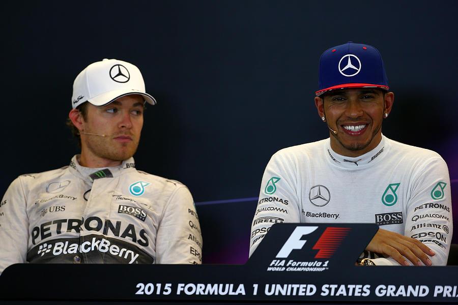 F1 Grand Prix Of Usa Photograph by Mark Thompson