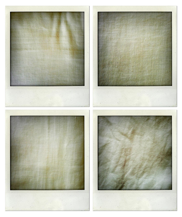 Textures Photograph - Fabrics by Les Cunliffe