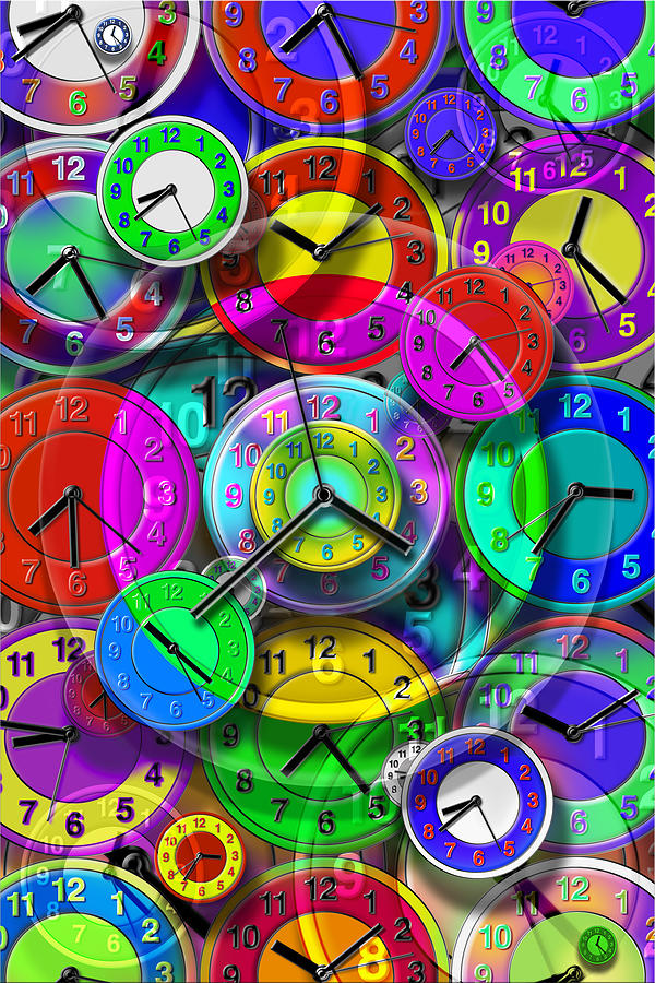Time Related Photograph - Faces Of Time 1 by Mike McGlothlen