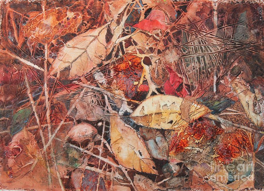 Tree Painting - Fallen II by Elizabeth Carr