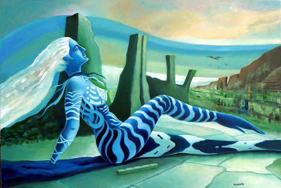 Fantasy Painting - Fantasy by Ayan  Ghoshal