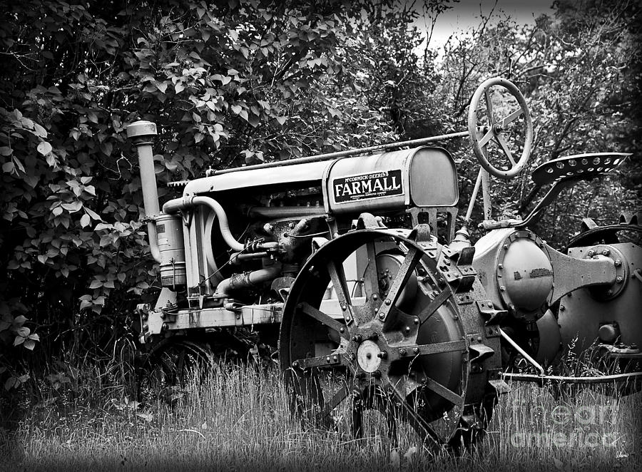 Old Photograph - Farmall by Alana Ranney