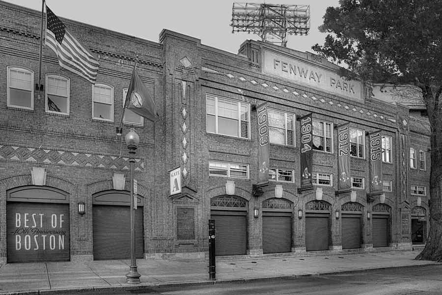 Fenway Park Photograph - Fenway Park - Best Of Boston by Susan Candelario