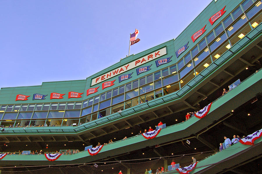 Red Sox Photograph - Fenways 100th by Joann Vitali