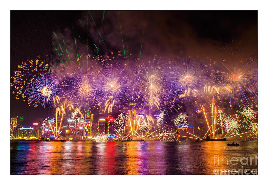 Firework 2014 Mixed Media