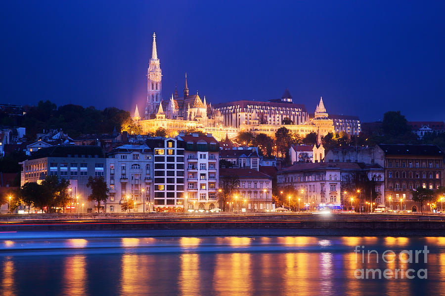 Budapest Photograph - Fishermans Bastion In Budapest by Michal Bednarek