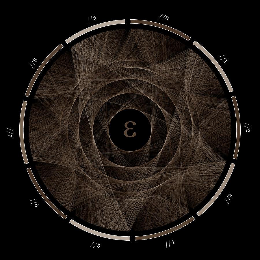 E Digital Art - Flow of e #2 by Cristian Vasile