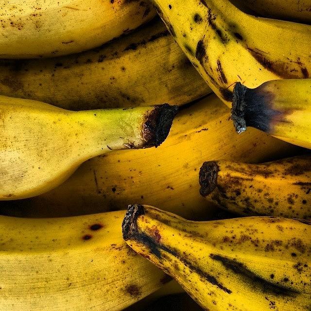 Food Photograph - Bananas by J Love