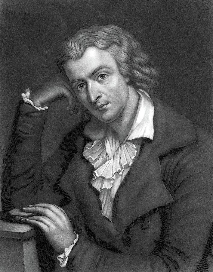 Friedrich Schiller (1759-1805) Painting by Granger