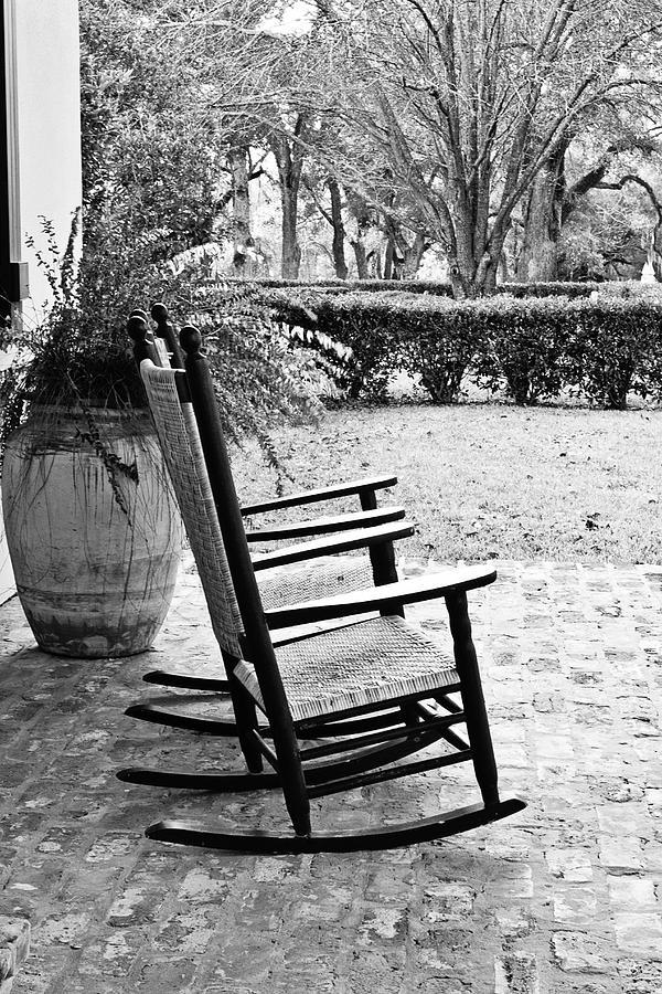 Rocking Chair Photograph - Front Porch Rockers by Scott Pellegrin