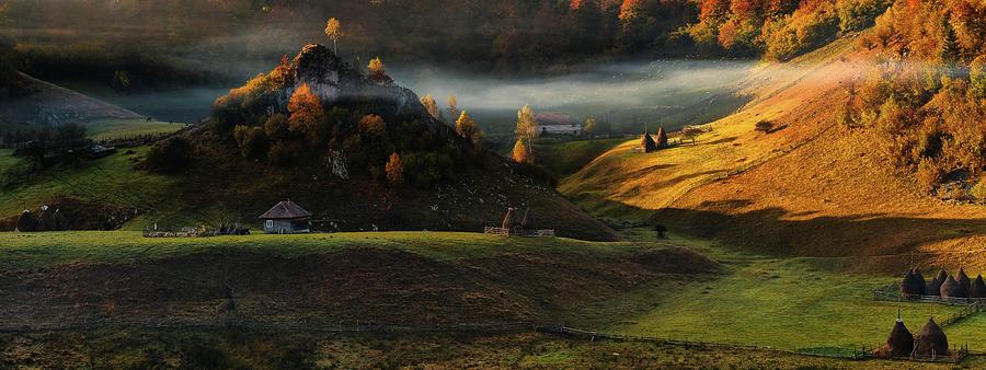Panorama Photograph - Fundatura Ponorului by Cristian Lee
