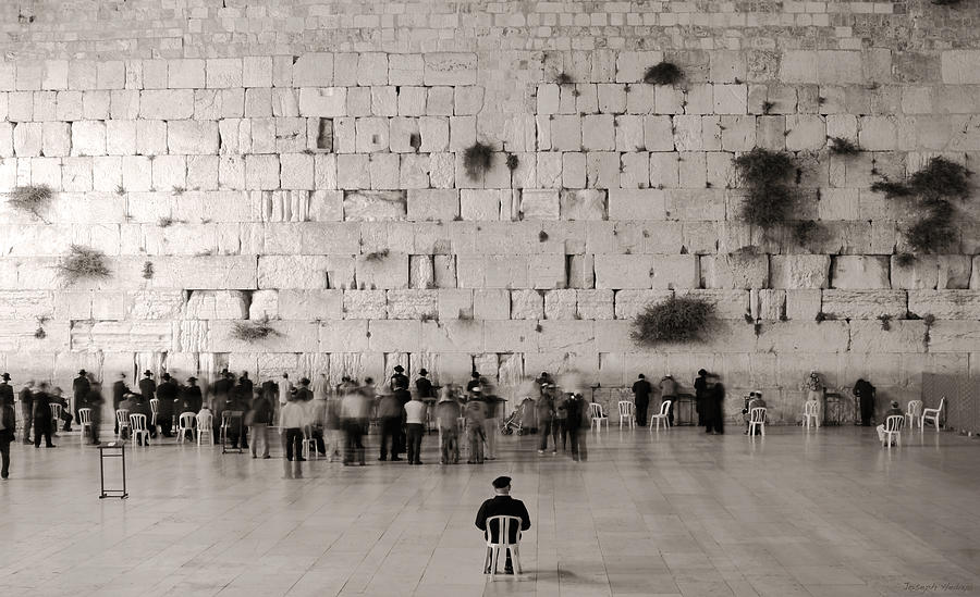 Jews Photograph - G-d Is One by Joseph Hedaya