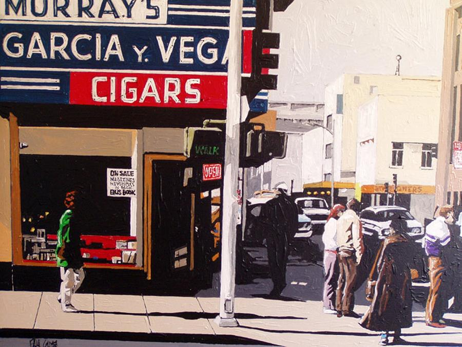 Sacramento Painting - Garcia Y Vega by Paul Guyer