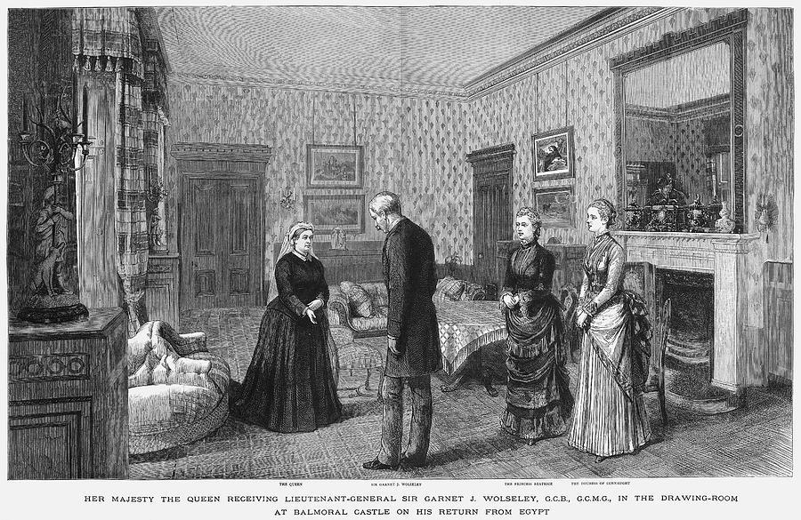1882 Painting - Garnet J by Granger