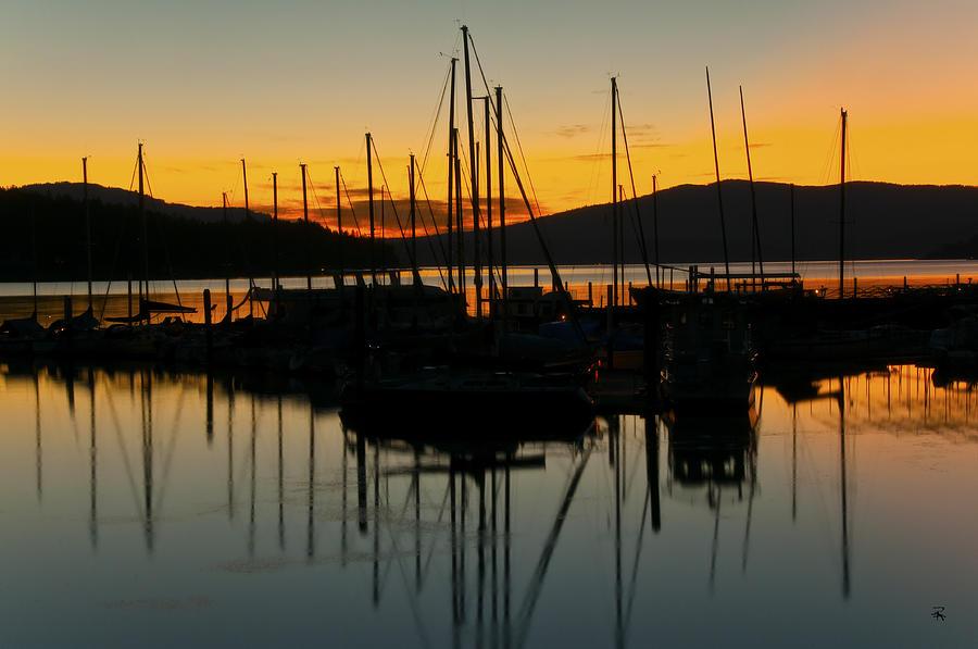 Harbor Photograph - Gentle Breeze by Randolph Fritz