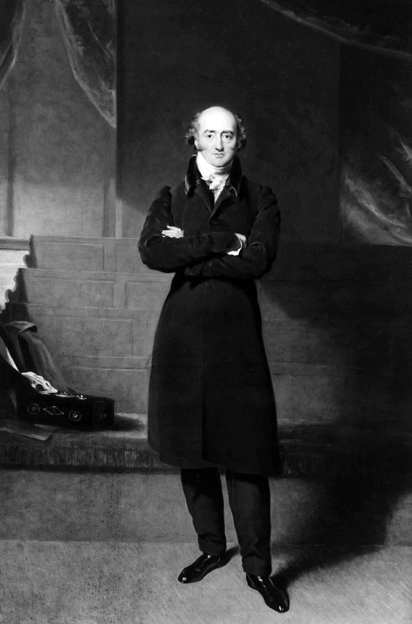 1825 Painting - George Canning (1770-1827) by Granger