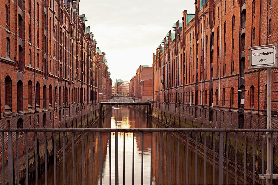 Germany, Hamburg, Old Warehouses In Photograph by Westend61
