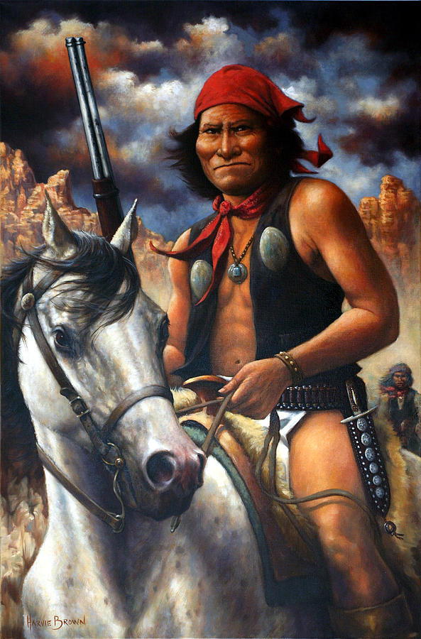 GERONIMO by Harvie Brown