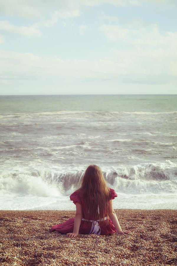 Girl Photograph - Girl On Beach by Joana Kruse