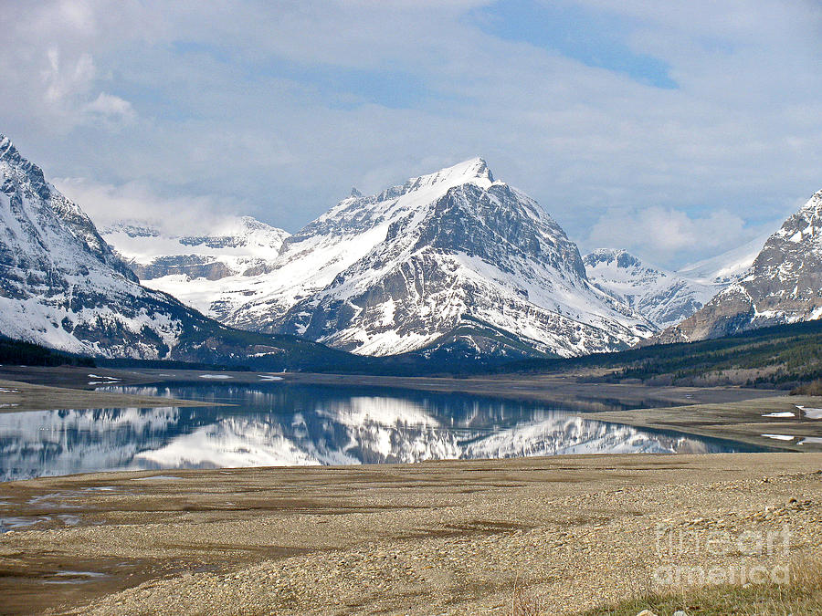 Glacier Photograph - Glacier National Park by Russell Christie